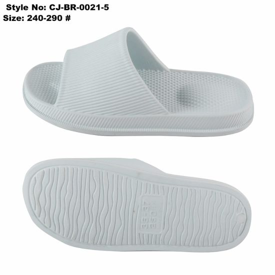 c11e4ff3387662 China Anti Slip EVA Bathroom Soft Slippers Sandal - China Flip Flop ...