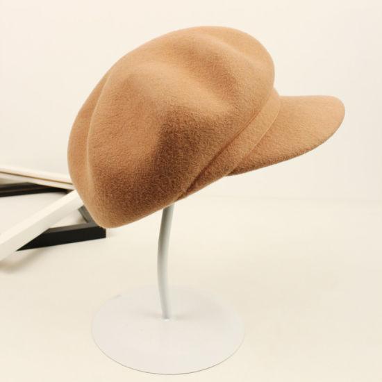 8b2feb75c0156 Custom Fashion Leisure Promotion Newsboy Cap High Quality Warm Cap Beret Hat