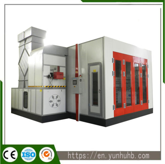 Ce Certification Spray Bake Automotive Spray Booth with Air Filter System for Car Maintaining