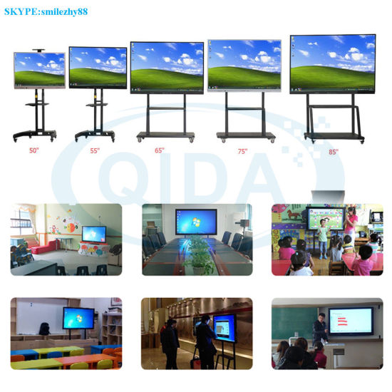 Touch Finger and Hand Touch Portable Interactive Whiteboard