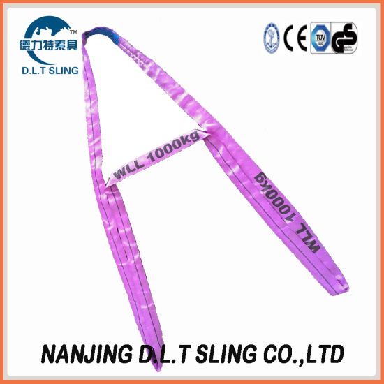 Polyester Nylon Round Sling Heavy Duty Lifting Sling
