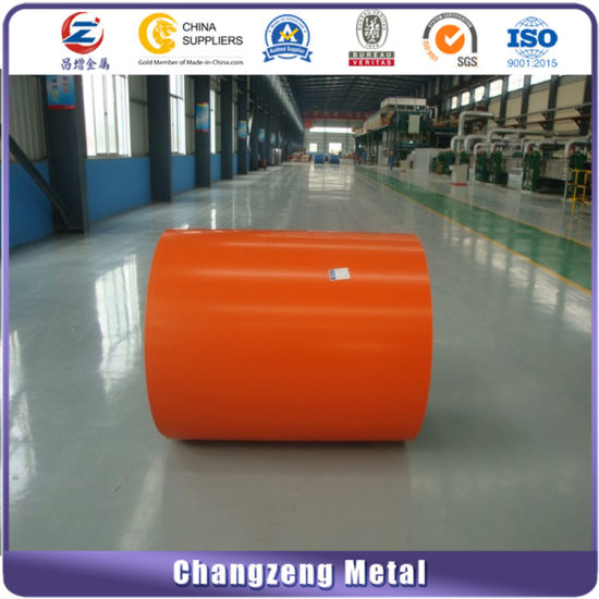 Customed 0.47*925mm Color Coated Steel Coil (CZ-P04) pictures & photos