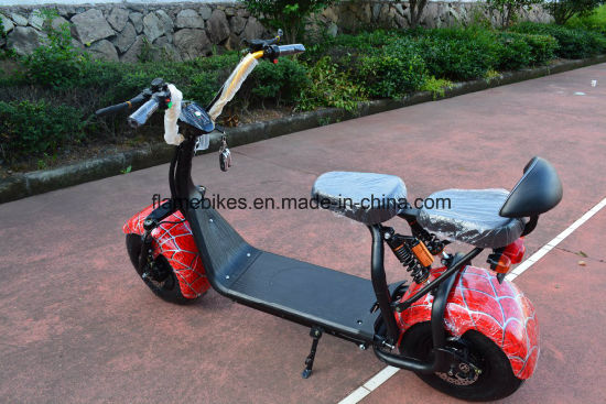 Fashion off Road Citycoco Scooter with 60V/12ah Lithium pictures & photos