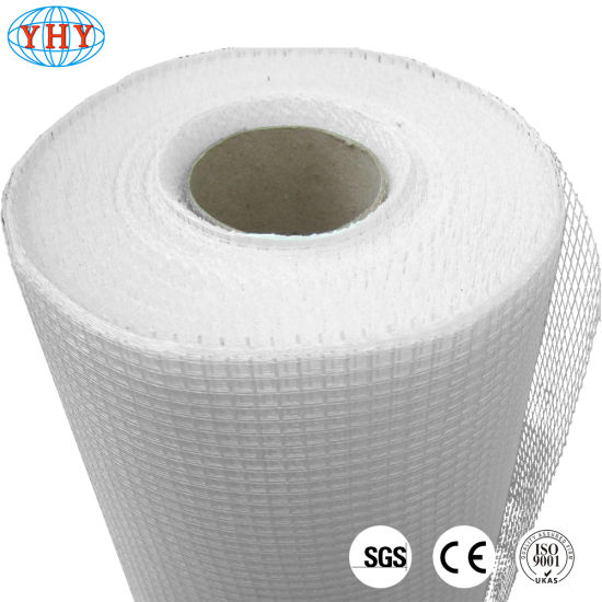China 75gr 5X5mm White Color Fiberglass Wire Mesh Netting for Marble ...