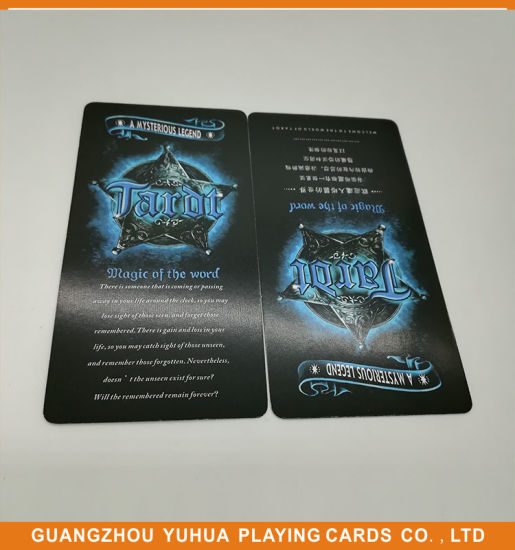 a9d4ccc0a Eco-Friendly Paper Tarot Cards Full Color Printing Yh70 pictures   photos