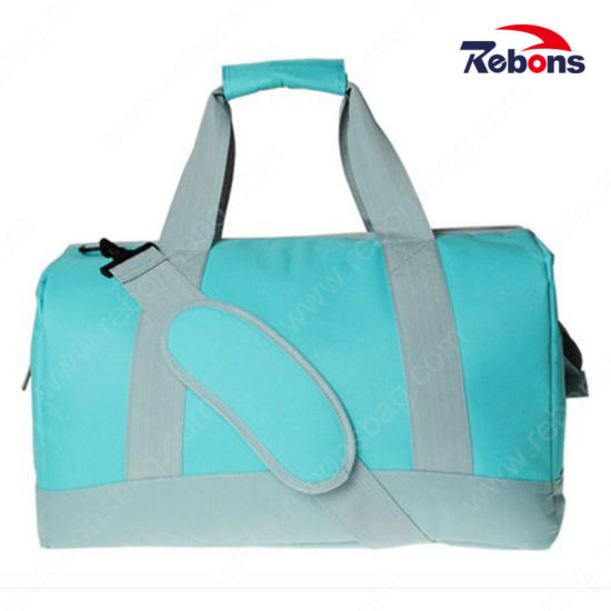 New Travel Gadget Design Candy Color Sneaker Travel Gym Carry Bag Travel Bag with Customized Logo