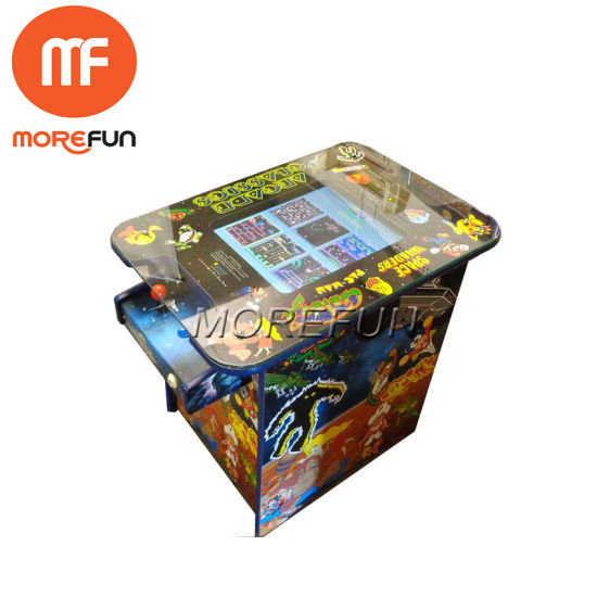Mini Arcade Machine Cabinet Pacman Arcade Game with Pandora Box 4s China  Wholesale PC 2 Player OEM PS4 Game Console