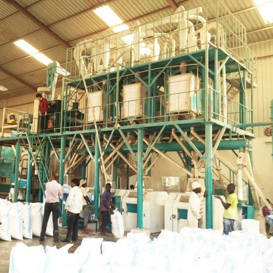 China Dar-Es-Salaam for Tanzania 20t/24h Maize Flour Mill Plant
