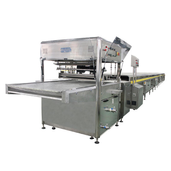 Automatic Small Chocolate Enrobing Machine Line Equipment Price pictures & photos