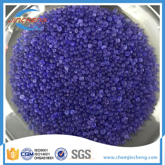Blue Silica Gel for Drying and Absorbing Moisture pictures & photos