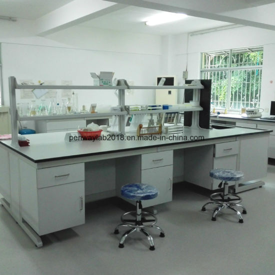 School Laboratory Furniture Manufacturer Painted Steel Lab Bench pictures & photos