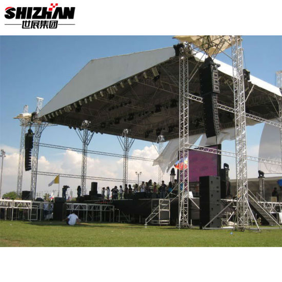 Adjustable Height Assemble Aluminum Portable Stage