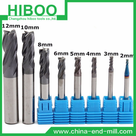 Cheap Economy Solid Carbide Square End Mill for Steels