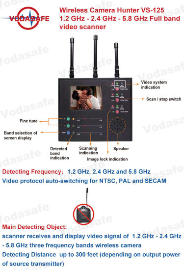 China wireless camera bug detectorfull band video scanner image wireless camera bug detectorfull band video scanner image display multi wireless camera full electronics projectcell phone detector circuit diagram ccuart Image collections