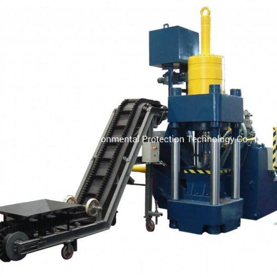 Y83-360 Vertical Automatic Metal Chips Briquette Making Machine