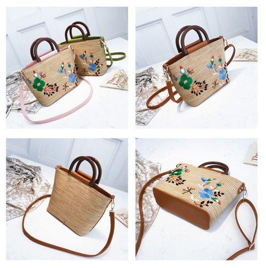 c70a9b79f3 China Custom Designer Ladies Tote Beach Bags