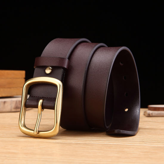 Wholesale Trendy Men PU Leather Belt Cheap Prices pictures & photos