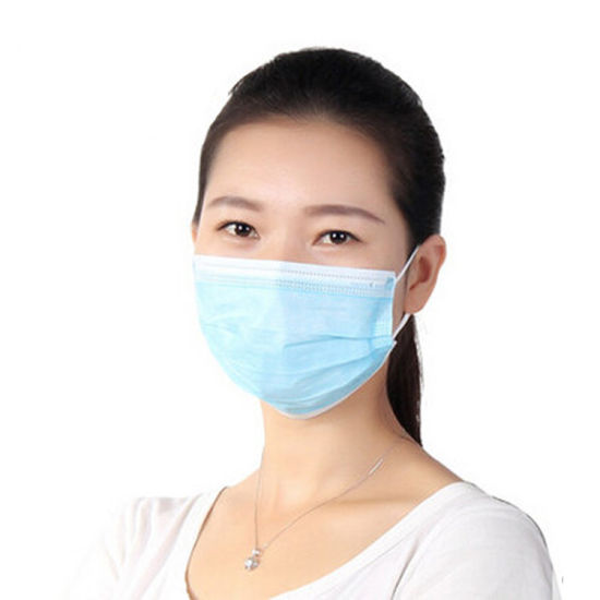 Manufacturers Direct Hot Selling Bottom Price Dustproof and Anti-Virus Non Woven Good Breathability 3-Ply Disposable Face Protective Mask