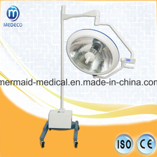 Surgical Equipment Operation Halogen Therapy Light with Ce/ISO Approved (Mobile type with battery XYX-F700 ECOA035)