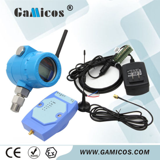 Gamicos Digital Wireless Water Pressure Sensor for Fire Safety