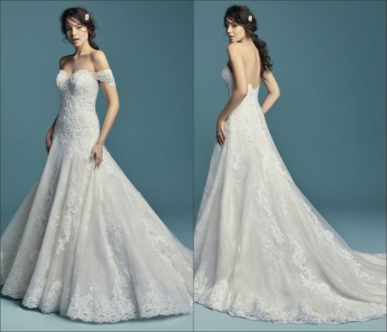 Sweetheart Wedding Dress With Cap Sleeves: China Cap Sleeves Bridal Dress Sweetheart Plus Size