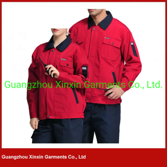 Safety Uniform Type Work Overalls for Men and Women Workwear Overalls Women Uniform (W711)