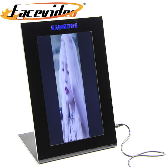 Facevideo Factory Design OEM LCD Media Advertising Player 9 Inch Screen Digital Photo Frame