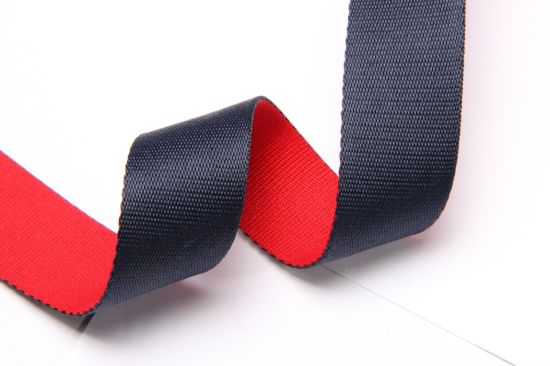 Factory Polyester Webbing Use for Bag and Belts (1821-24)
