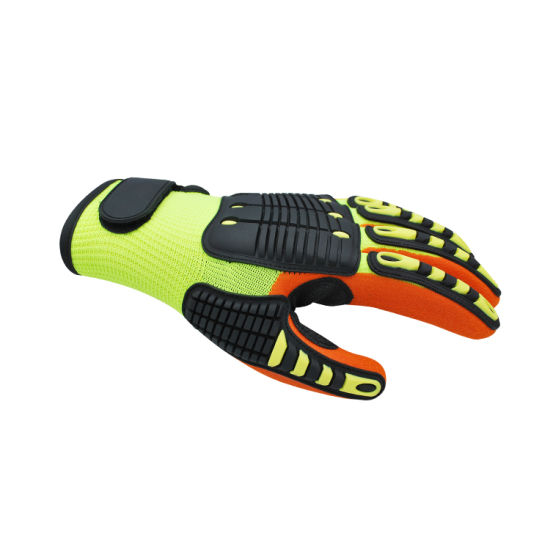Heavy Duty Anti-Impact TPR Safety Other Work Gloves for Oilfeild
