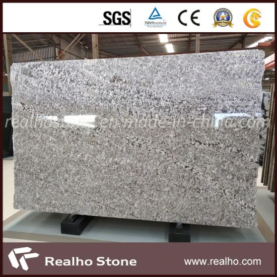 Factory Price Natural Polished Brazil Bianco Azul Aran White Granite