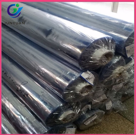 PVC Super Clear Film of Transparent Plastic Sheet 0.1 mm Thick with Roll pictures & photos