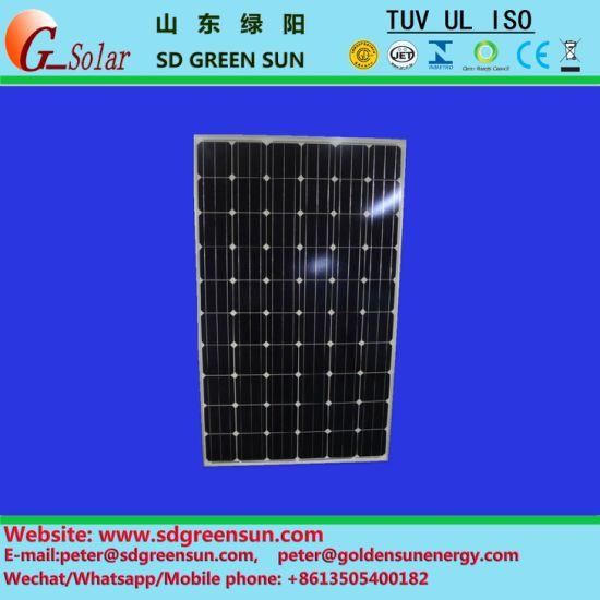 China 30V Solar Light Panel (240W-260W) with TUV/UL/Ce