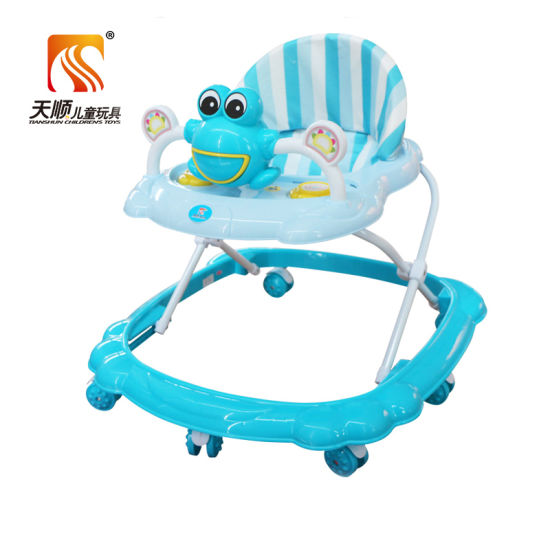 Export Color Vanish Painting Baby Buggy with Rotating Tyre pictures & photos