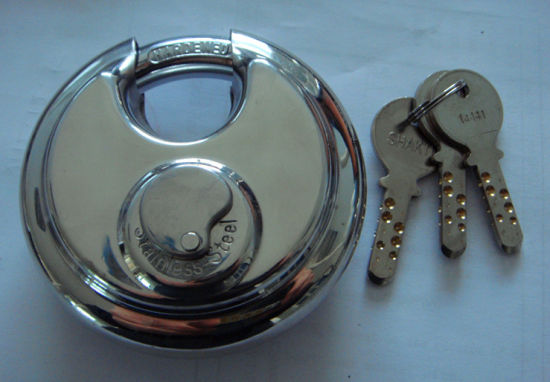 Stainless Steel Padlock, Disc Lock, Padlock (AL60-70-80-90) pictures & photos