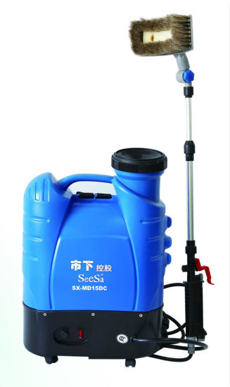 15L Multi-Function Dynamoelectric Electric Knapsack Pressure Car Washer Sprayer (SX-MD15DC) pictures & photos