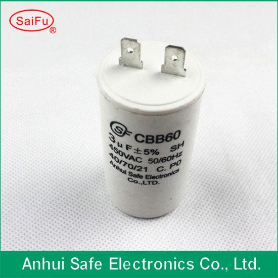 Cbb60 Capacitor for Pump
