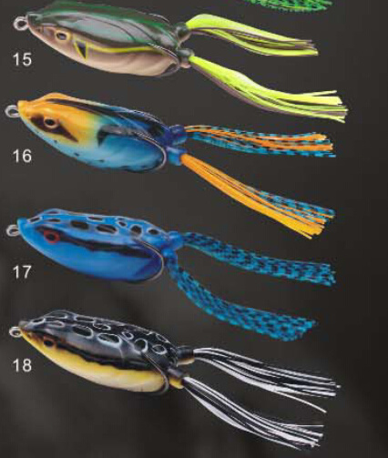 Different Type Frog Lure Soft Body Frog Fishing Lure pictures & photos
