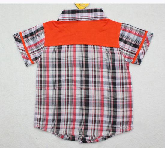 High Quality Cotton Loepard Children Shirts