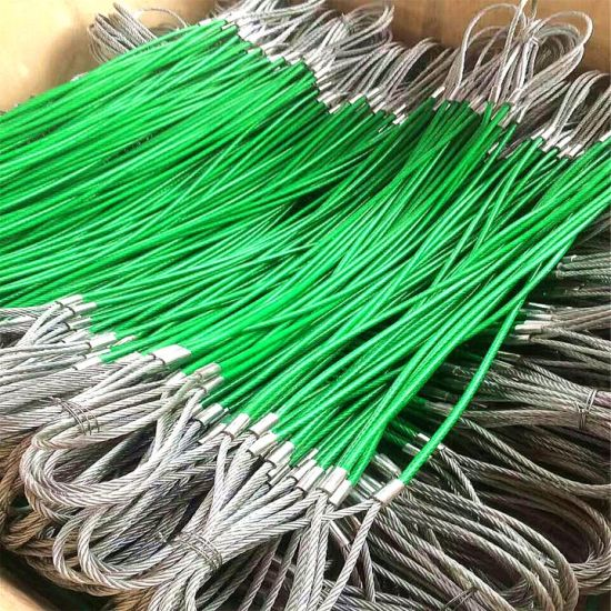 Plastic Coatedwire Rope Sling Galvinized with Thimble pictures & photos