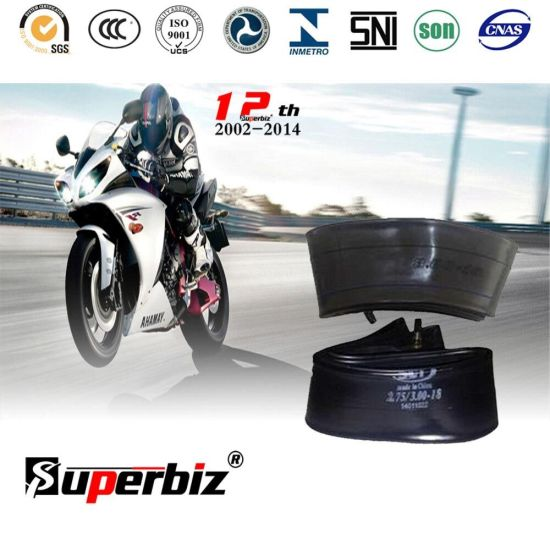 18 Inch OEM New Motorcycle Natural/Butyl Rubber Inner Tube (300-18) with ISO pictures & photos