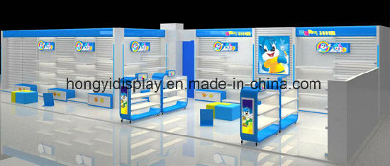 Shop Fitting Hubsche Child Function Shoe Rack 2 Tiers Double Tray Counter Display Kid Shoes Desktop Showcase