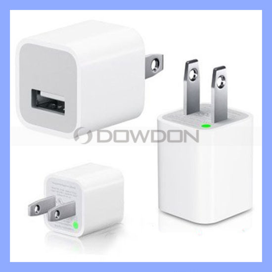 Us 5V 1A USB Power Adapter Wall Charger for iPhone 7