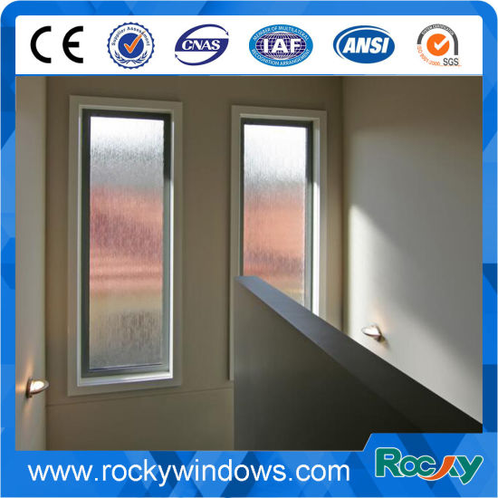 Rocky Wooden Arched Window Aluminum Fixed Window pictures & photos