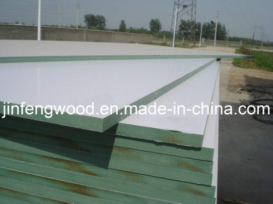 Melamine Laminated Hmr MDF/Water-Proof Green MDF Board/Prticle Board in Any Color as You Need