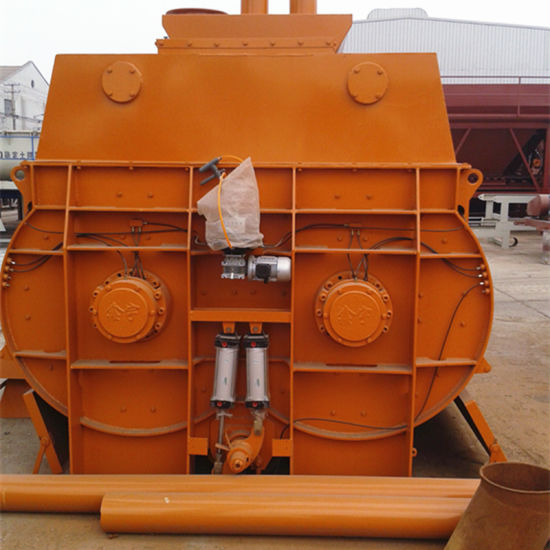 Twin Shaft Concrete Mixer (Js2000) pictures & photos