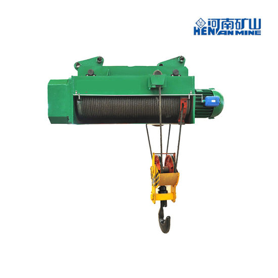 CD/MD Type Horizontal Hoist with Remote Wireless Control Electric Wire Rope