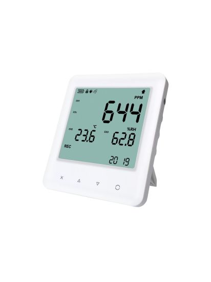 High Accuracy Air Quality Monitor Meter CO2 Detector Indoor Outdoor with Temperature and Humidity for Home Office