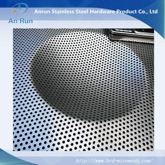 China perforated metal sheet as mechanical screen