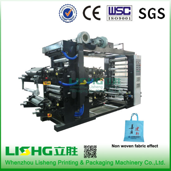 Ytb-41400 High Technology Plastic PE Film Flexo Printing Machinery pictures & photos