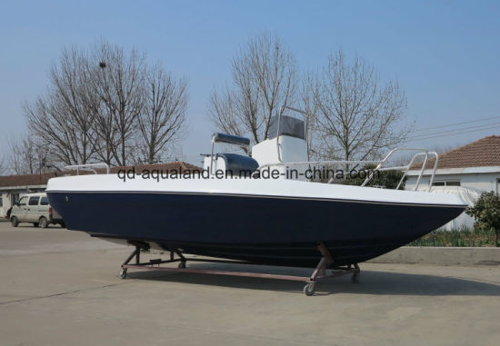 China Aqualand 21feet 6.25m Sports Fishing Boat/Fiberglass Motor Boat (205c) pictures & photos